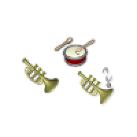 Musical Instruments Cursors