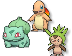 Pokemon 3D Starters ALL REGIONS Teaser