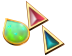 Rainbow Gemstones Set in Gold Teaser