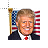 32PXFLAG_Trump.ani Preview