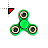 fidget_spinner_green_25ms.ani Preview
