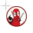 Animated Deadpool.ani Preview