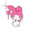 Melody Hello Kitty with Lollipop help select.ani Preview