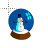Snowman Snowglobe Normal Select