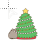 Kitty Xmas Tree Animated Normal Select Preview