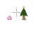 Kirby Nintendo Eats Xmas Tree Busy Preview