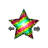 Rainbow Star Horizontal Resize Preview
