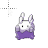 Goomy 8 Bit Pokemon XY normal select.ani Preview