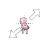 Mew Pokemon Diagonal Resize Right.ani Preview