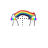 Puking Rainbow Horizontal Resize.ani Preview