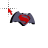 Batman vs Superman logo normal select.ani Preview