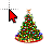 Christmas Tree Animated (normal).ani Preview
