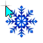 Christmas Snowflake (Link).cur HD version