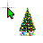 Christmas Tree Animated (2).ani Preview