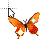 8-bit Butterfly normal select.ani Preview