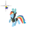 Rainbow Dash My Little Pony Normal Select.ani Preview
