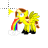 Fluttershy Pukes Rainbow Normal Select.ani Preview