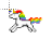 8-Bit Unicorn Normal Select.ani Preview
