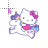 Hello Kitty on Unicorn Normal Select.ani Preview