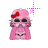 Pink Hello Kitty Darth Vader alt left select.ani Preview