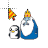 Gunter & Ice King Adventure Time normal select.ani Preview