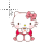Hello Kitty in 8-bit normal select.ani Preview