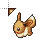 Eevee Walking.ani Preview