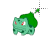 Bulbasaur Pokémon alt left select.ani Preview