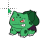 Bulbasaur Pokémon Merged With The Hulk normal select.ani Preview