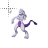 Mewtwo Pokémon normal select.ani Preview