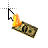 Burning Money Dollar.ani Preview