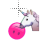 unicorn licks smiley normal select.ani Preview