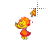 Fire Princess 8-bit alt left select.ani Preview