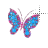 glittery butterfly alt left select.ani Preview