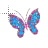 glittery butterfly normal.ani Preview