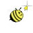 glitter bee alt left select.ani Preview