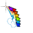 rainbow dash symbol cursor trail normal select.ani Preview
