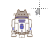 Pusheen the Cat as R2-D2 alt left select.ani Preview
