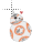 BB-8 Star Wars hearts normal select.ani Preview