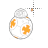 BB-8 Star Wars rolls alt left select.ani Preview