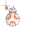BB-8 8-bit normal select.ani Preview