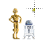 C3p0 & R2d2 alt left select.ani Preview