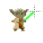 Yoda 8-bit alt left select.ani Preview