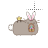 Pusheen bunny alt left select.ani Preview