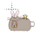 Pusheen bunny normal select.ani Preview