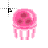 pink jellyfish normal select.ani Preview