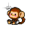 Monkey horizontal resize.ani Preview