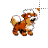 Growlithe Pokémon 8-bit alt left select.ani Preview