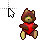 Teddy Heart normal select.ani Preview