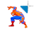 Spiderman left select.ani Preview